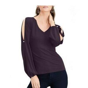 INC open sleeve top